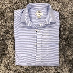 Blue and White Stripped Button Down